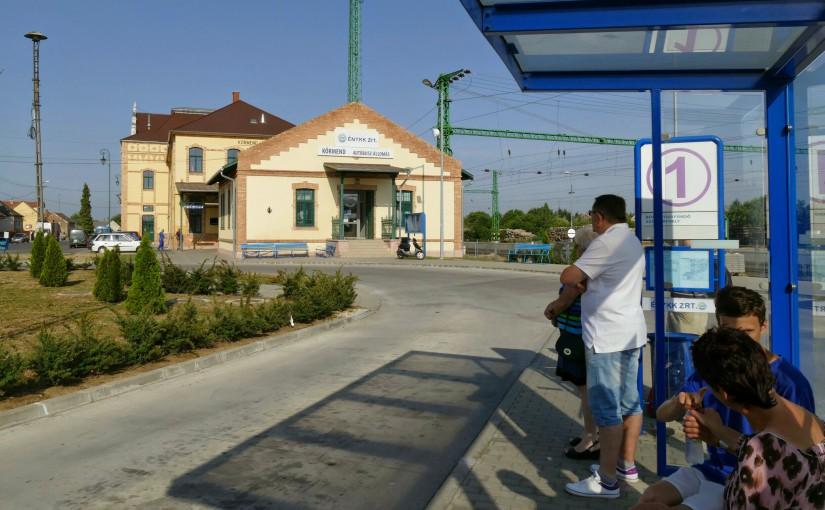 Busbahnhof von Körmend