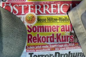 Hitzewelle in Österreich